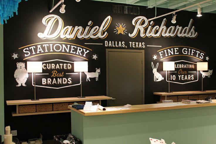 Hand Painted Signs Dallas Trade Mart Daniel Richards