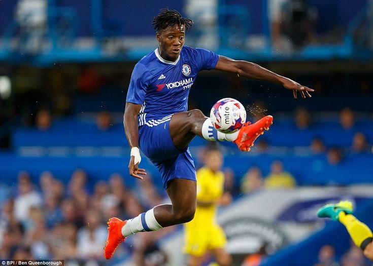 Michy Batshuayi: Chelsea 3-2 Bristol Rovers, 23 Aug 16