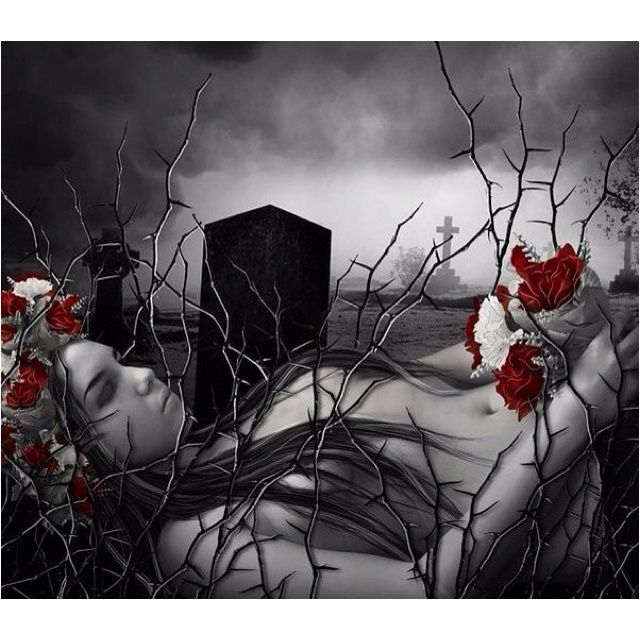Gothic Imagery | Gothic romance, with a hint of nature's ...