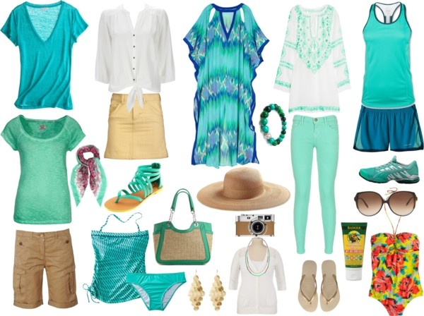 """""""St. Lucia Beach Weekend"""" by susanmcu on Polyvore"""