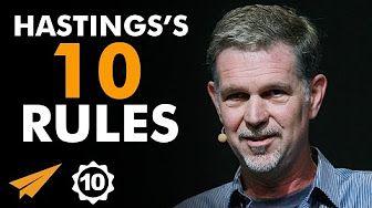 18:26  Reed Hastings's Top 10 Rules For Success (@reedhastings)