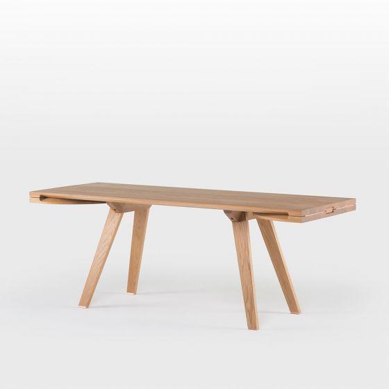 TOGETHER EXTENDING TABLE - STUDIOILSE at Spence & Lyda #spenceandlyda #studioilse #australia #sydney #table #blackwalnut #whiteoak  #dining #design