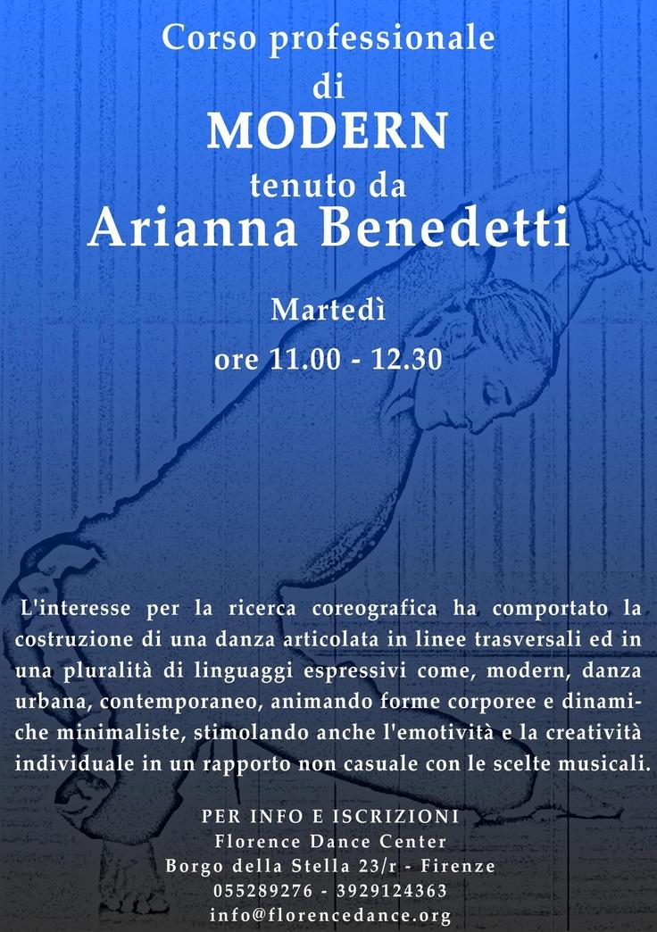 Arianna Benedetti  Corso danza Modern