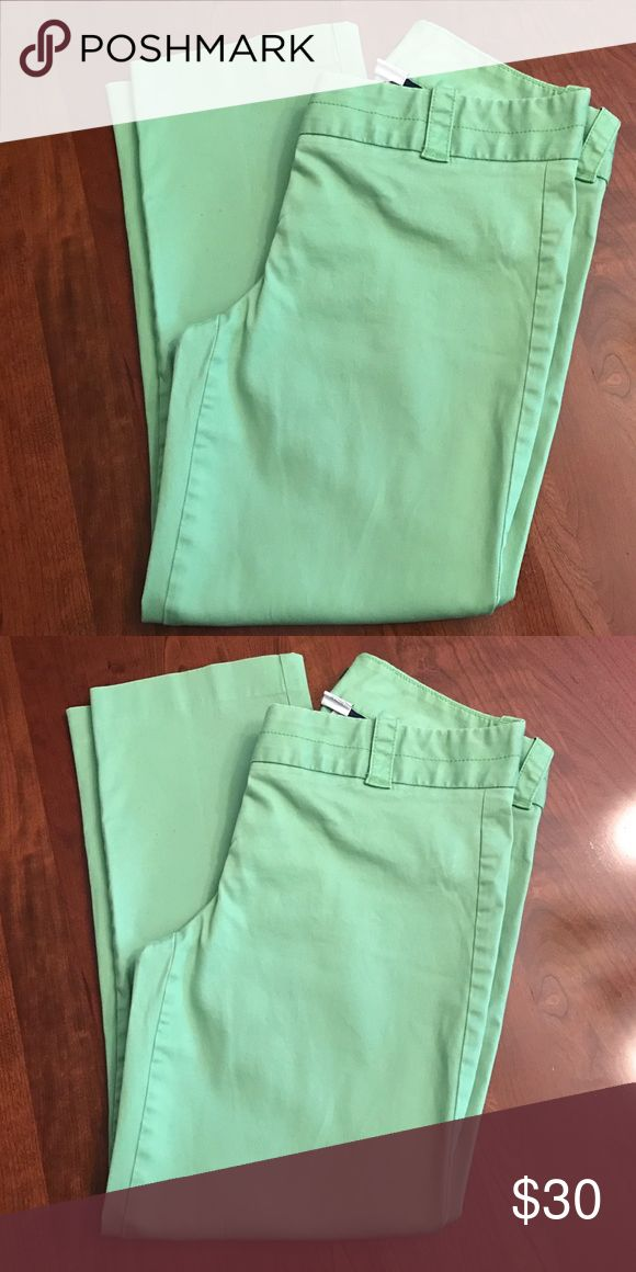 Lime green pants Lime green ankle pants. City fit J. Crew Pants Ankle & Cropped