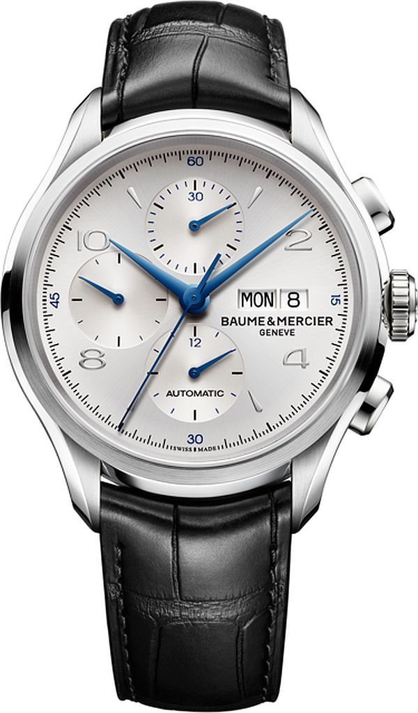 WATCH | Baume & Mercier Clifton Chronograph Watches 2014. #Baume #Mercier #Clifton #Chronograph #Watch #2014