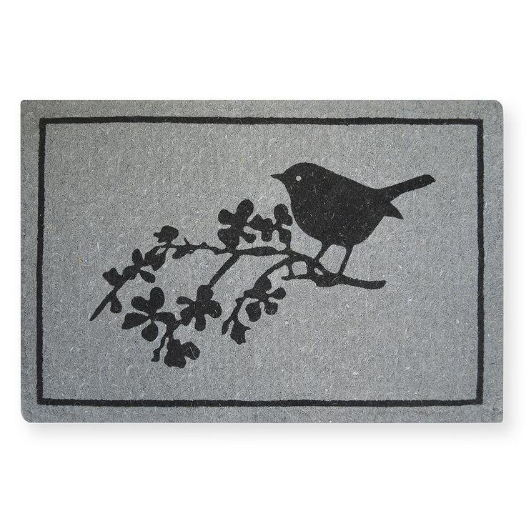 Song Bird Coir Doormat