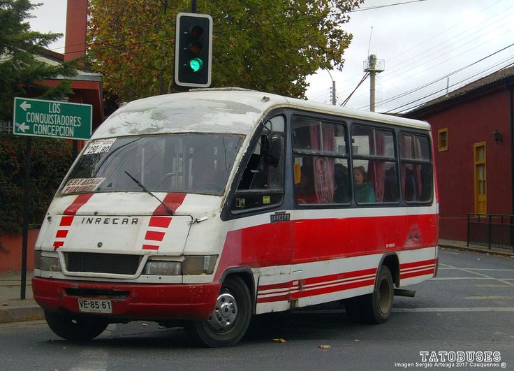 https://flic.kr/p/D2Xx3h | ← Buses Nuevo Amanecer Cauquenes ©→ | Inrecar Escorpion - M.Benz - Urbano Linea 1 - imagen Sergio Arteaga 2017 - Cauquenes  (TATOBUSES)