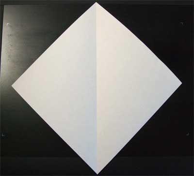 valentine origami ring
