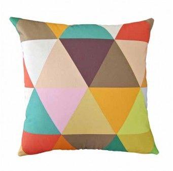 Kaleidoscope Square Cushion
