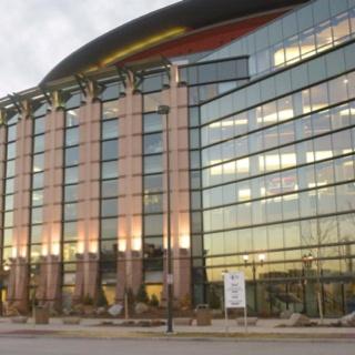 The Pepsi Center - Denver Colorado. Home of the Colorado Avalanche.