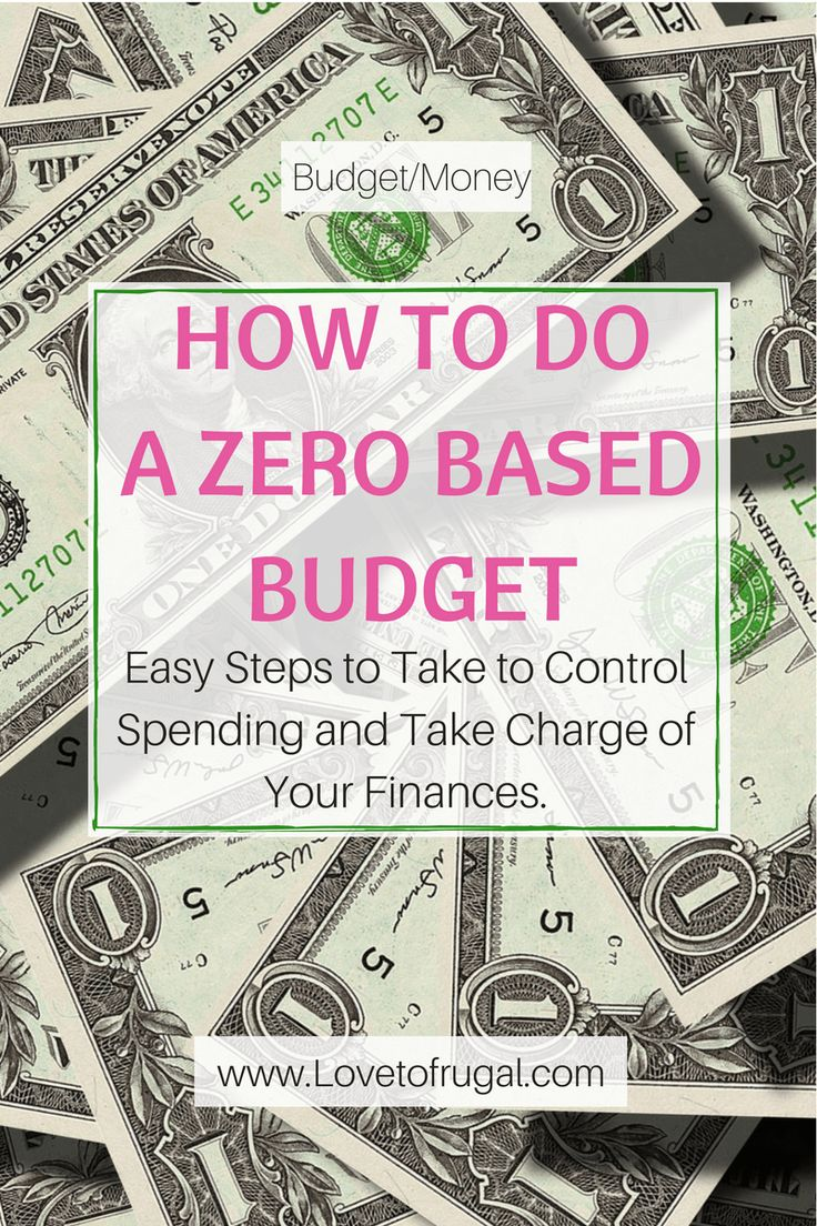 How to do a Zero Based Budget These are some great budget tips, especially if you're new to the budgeting process!