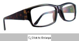 Zachary Rectangular Wayfarers Glasses - 416 Tortoise
