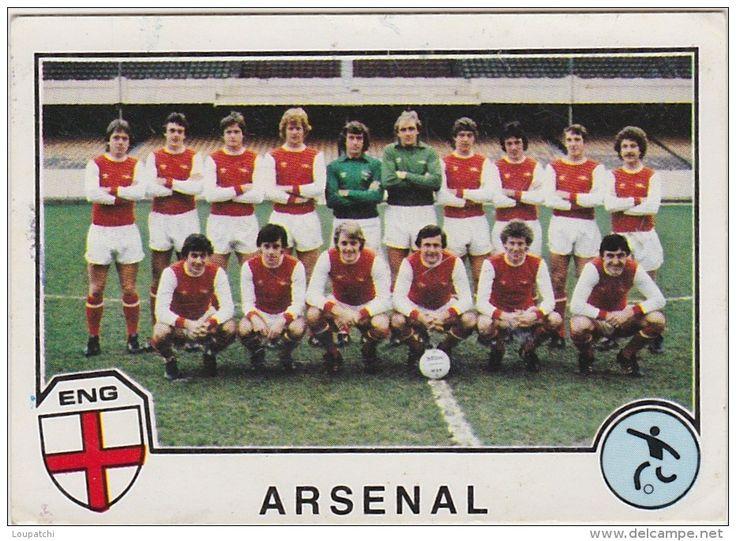 PANINI SPORT SUPERSTARS 1982 FOOTBALL ENGLAND ARSENAL GUNNERS