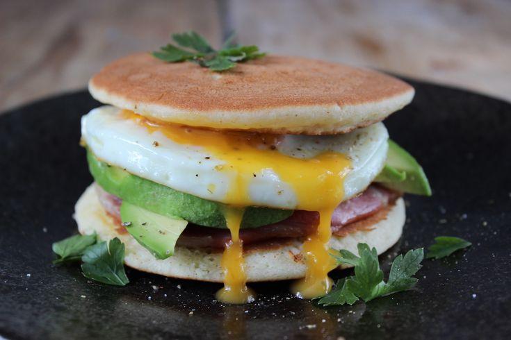 Glutenvrije pannenkoeken met hartig beleg! - Powered by @ultimaterecipe