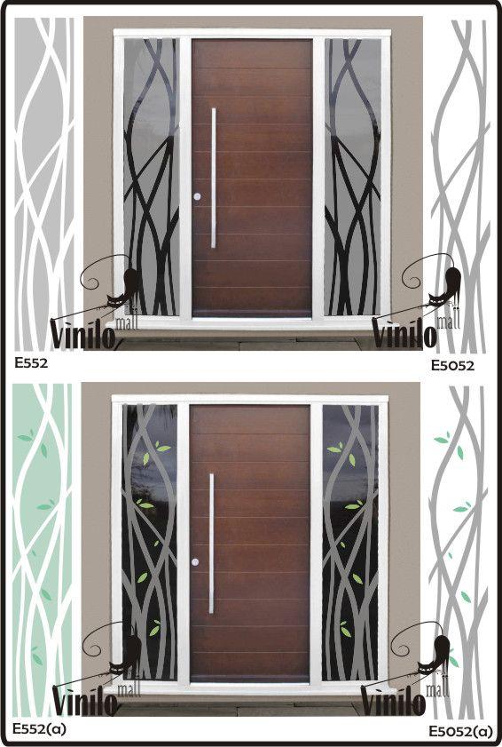 vinilos decorativos esmerilados para vidrios 215 00 en