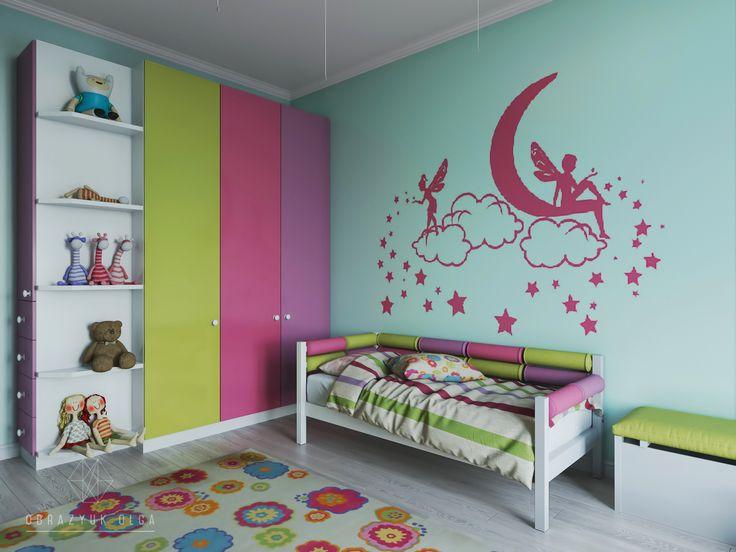 #Дизайн #интерьера #детской комнаты|дизайн детской комнаты для мальчиков и девочек в Киеве от частного дизайнера #Ольги #Образюк.