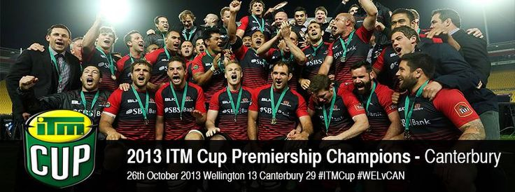 ITM Cup Premiership Final Match Report: Canterbury Rugby make it six ITM Cups in a row  Wellington 13 Canterbury 29