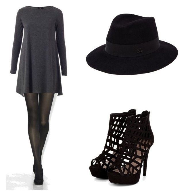 Untitled #8 by malineiksa on Polyvore featuring polyvore, fashion, style and Maison Michel