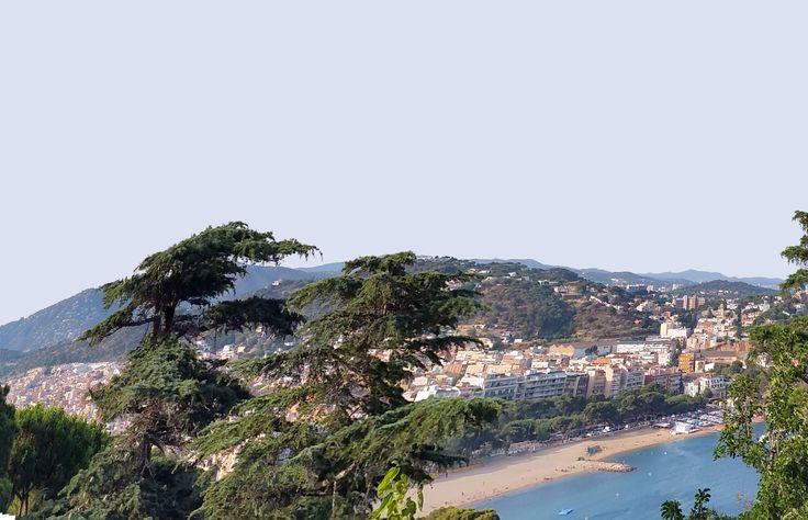 San Feliu de G. desde Sant Elm