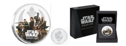 Star Wars Rogue One Coins From New Zealand Mint