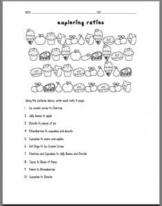 exploring ratios worksheet... too cute!: Math Stuff, Ratios Unit, Exploring Ratios, 6Th Grade Ratios, Ratios Worksheets, Sweet Exploring, Ratio Worksheets, 6Th Grade Math Ratios, Teaching Ratios