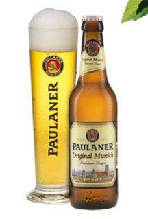 German beer ~ my favorite! ♥ ~ if it's beer in  Germany, it has to be Paulaner.