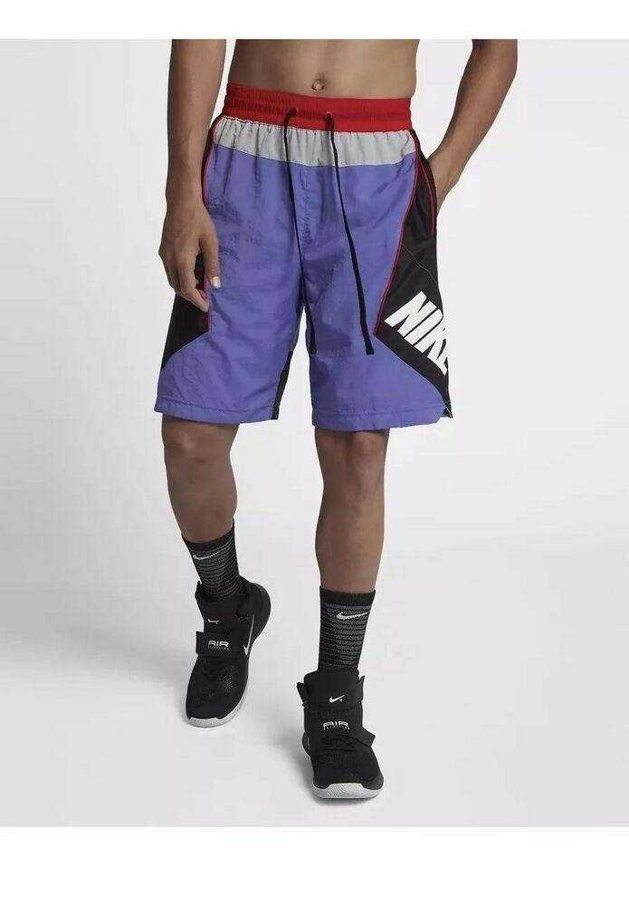 Nike 9 Throwback Basketball Shorts Purple Black Aj3673 554 Men S Size Medium Nike Basketball Shorts Basketball Uniforms Design Fashion