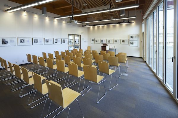 The Program Room at the Salt Spring Island Public Library. Photo by John Cameron. www.johncameron.ca/