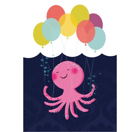 Octopus | arms means that many more balloons