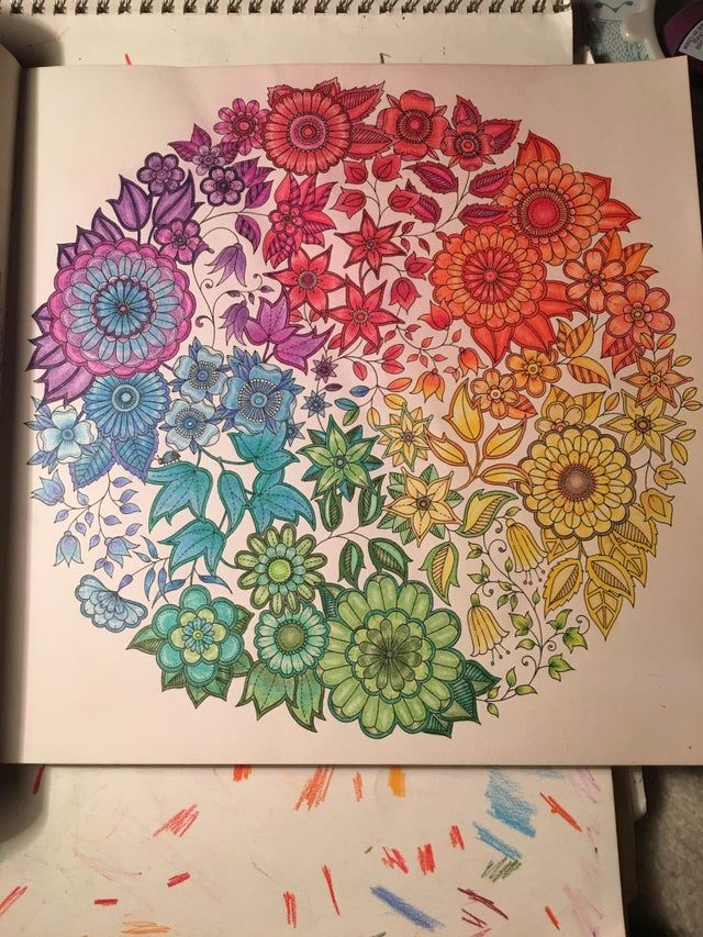 Pin By Martha Patrick On Colored Pages Secret Garden Coloring Book Secret Garden Colouring Joanna Basford Coloring