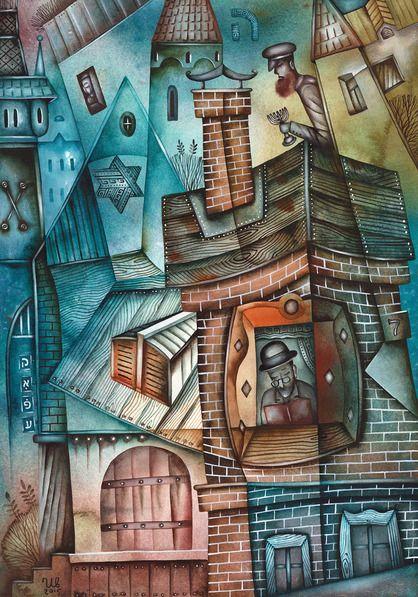 Evening by Eugene Ivanov #eugeneivanov #cubism #avantgarde #threedimensional #cubist #artwork #cubistartwork #abstract #geometric #association #@eugene_1_ivanov