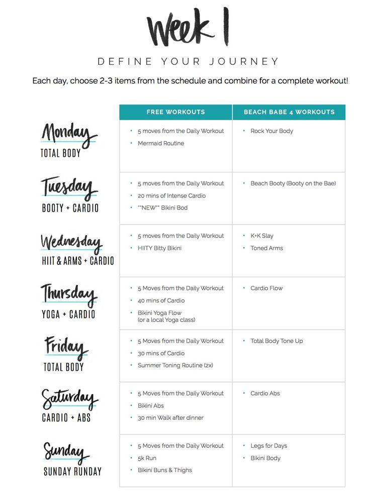 135 best Workout images on Pinterest Workout calendar, Calendar