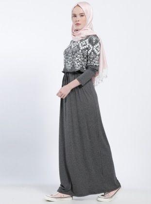 e1e24f32dac6b Doğal Kumaşlı Spor Elbise - Gül Kurusu Mavi | modelhane, 2019