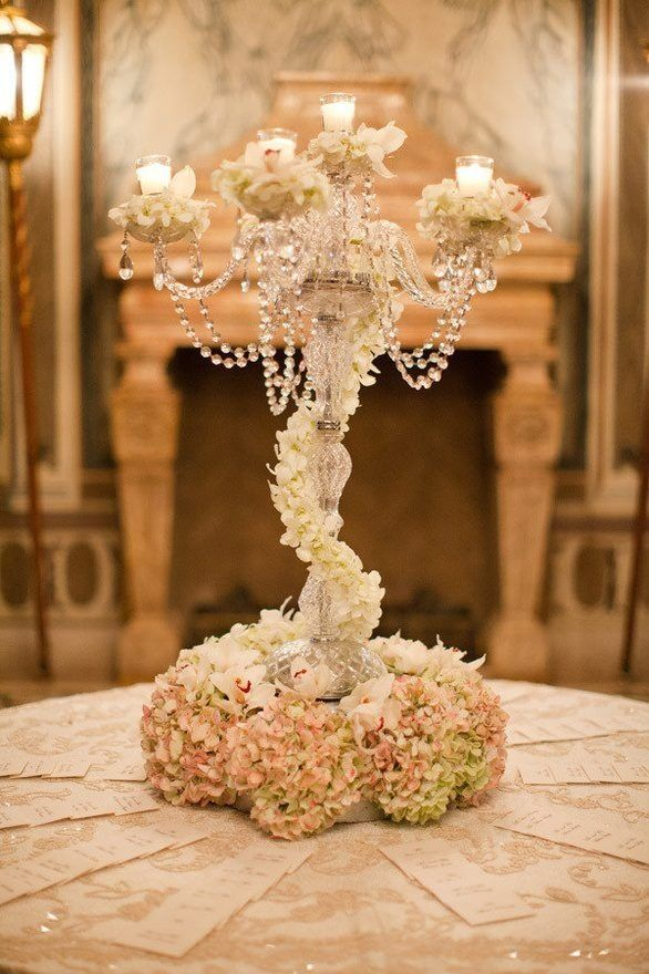 vintage 1920s wedding centerpieces | 1920 vintage style centerpiece | Dream Wedding Ideas pam