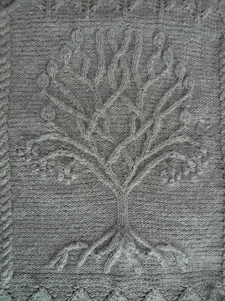 Ravelry: Tree pattern by Ariel Barton