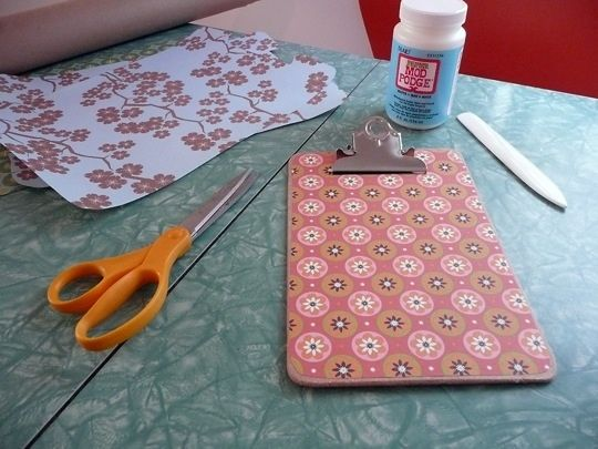 Here are some creative ways to use Mod Podge #crafts: 2 9 09 Clipboards 2 Jpg, Crafts Ideas, Gifts Ideas, Covers Clipboards, Mod Podge Ideas, Podge Clipboards, Decor Clipboards, Paper Cov Clipboards, Clip Boards