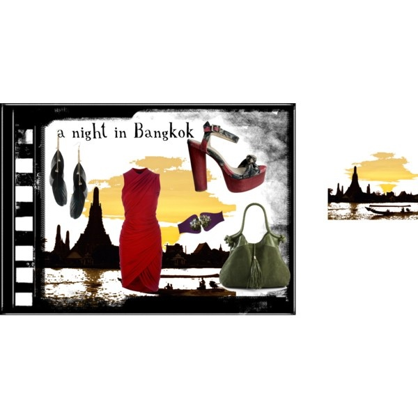"""""""a night in Bangkok"""" by furettina on Polyvore"""