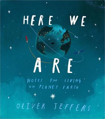 Storytime Issue 39's Book of the Month is Here We Are by Oliver Jeffers - an absolute treasure and a must-buy this Christmas. Win it here: http://www.storytimemagazine.com/win