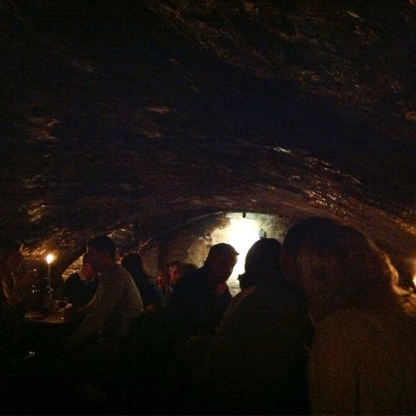 Underground, cavernous wine bars and bars. Wedding receptions by candle light. For cavernous cuisine and celeberations, underground edibles call Wild Side Destinations 503-630-5570. Here's a slideshow oft 13 Bars in Strange Places. #alltravelersallowed #allweddingsallowed