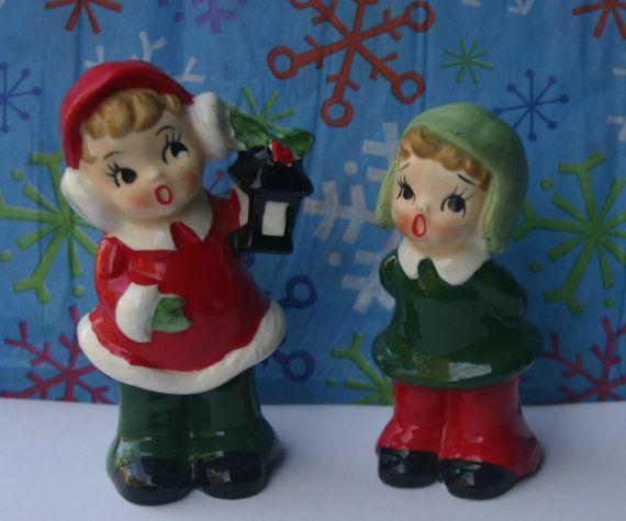 Ceramic Christmas Caroler Figurines Parma By Thepokeypoodle: 205 Best Josef Originals Images On Pinterest