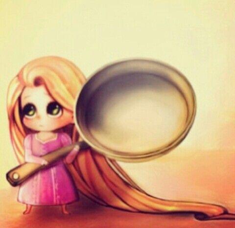 Kawaii Rapunzel
