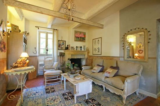 country living rooms | Image detail for -french country home decor and living room decorating ...