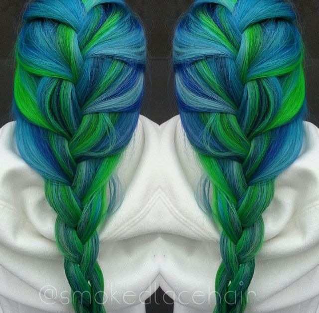 25 Best Ideas About Teal Green Color On Pinterest: 25+ Best Ideas About Blue Green Hair On Pinterest