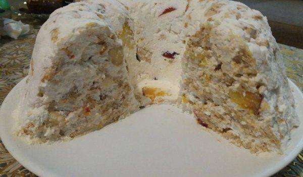 Бисквитена торта Лятно изкушение - Рецепта. Как да приготвим Бисквитена торта Лятно изкушение. Кликни тук, за да видиш пълната рецепта.