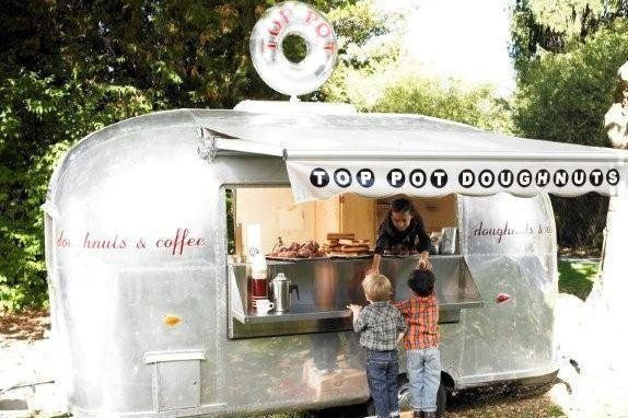 Top Pot Doughnuts - Seattle Food Trucks, Street Food | Roaming Hunger
