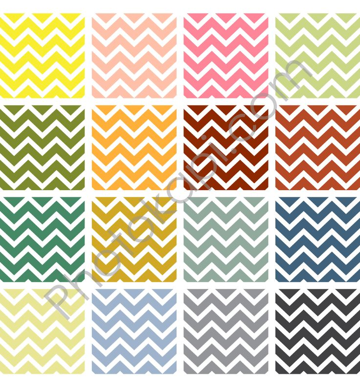 graphic relating to Chevron Printable Paper named 16 Chevrons My Picture Style Chevron printable