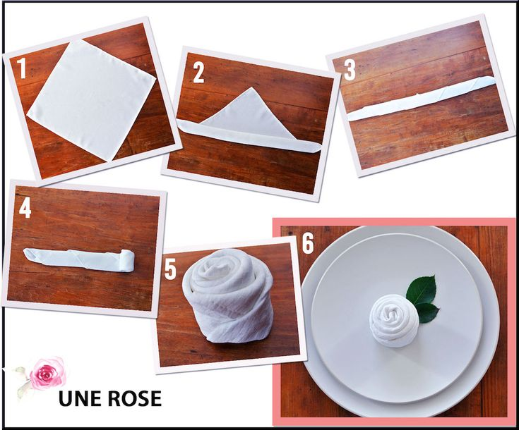 Serviette De Table Origami