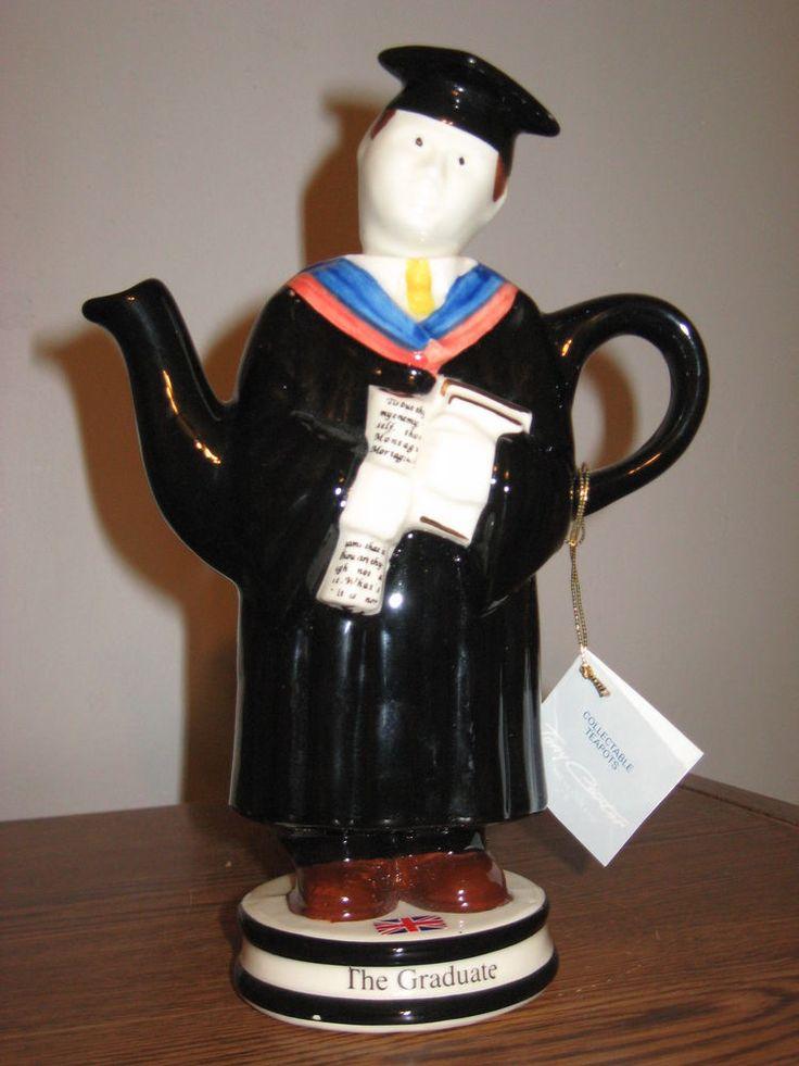 Novelty Tea Kettles ~ Tony carter s the graduate novelty teapot man in