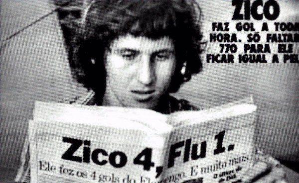 #Zico v #Fluminense (1976) ; #FlaFlu #Flamengo #CRF
