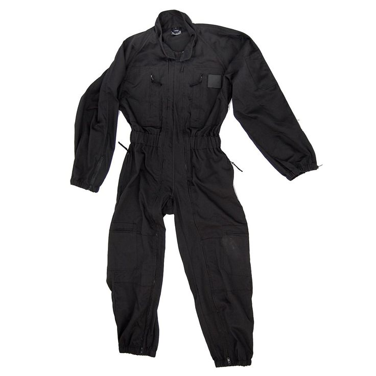 Patrol SWAT Overall Combat Coverall Suit Black